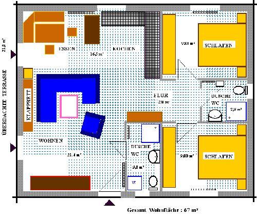 Dänisches Holzblockhaus, Niedrigenergiehaus € 100000
