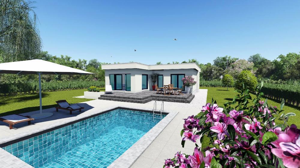 bungalow kaufen in attika griechenland. Black Bedroom Furniture Sets. Home Design Ideas